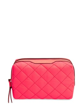 Small Perry Quilted Nylon Cosmetics Case by Tory Burch