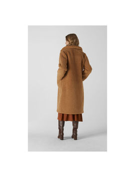 Teddy Longline Coat by Whistles