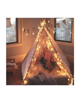Indian Play Tee Pee Tent Kids Play Warm Tent   Perfect With Cute Window, Floor And Indoor For Children by Ez Glam