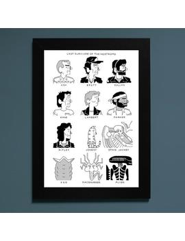 Last Survivor Of The Nostromo Print by Etsy