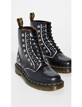 1460 Stud 8 Eye Boots by Dr. Martens