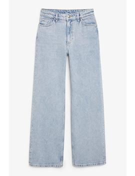 Yoko Jeans Light Blue by Monki