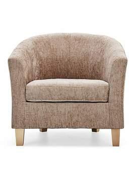 Maxwell Tub Chair   Mink by Dunelm