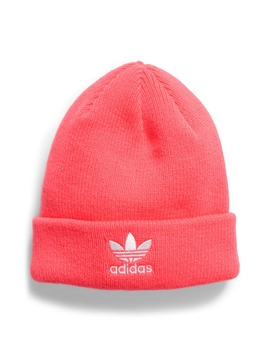 Trefoil Embroidered Beanie by Adidas Originals
