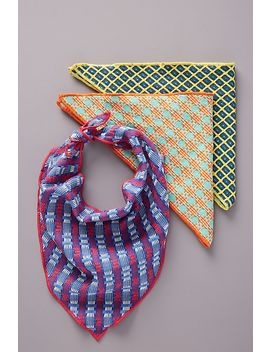 Henrik Woven Dog Kerchief by Anthropologie