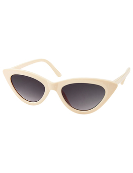 Caroline Slim Cat Eye Sunglasses by Accessorize