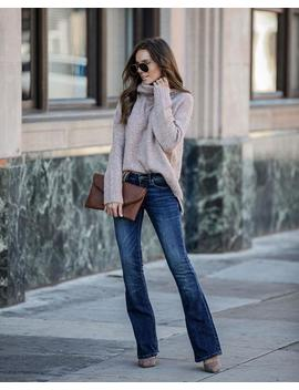 Taylor Mid Rise Bootcut Denim by Vici