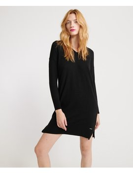 Jayden Luxe Knit Dress by Superdry