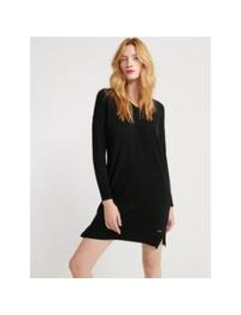 Jayden Luxe Knit Dress   Black by Superdry