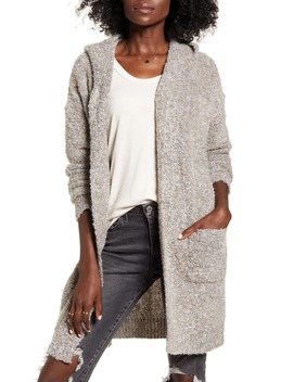 Hooded Longline Cardigan by Dreamers By Debut