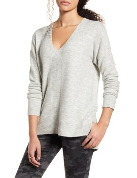 Ribbed Detail Tunic Sweater by Dreamers By Debut