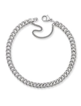Light Double Curb Charm Bracelet by James Avery