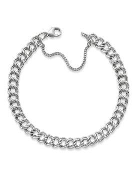 Medium Double Curb Chain Charm Bracelet by James Avery