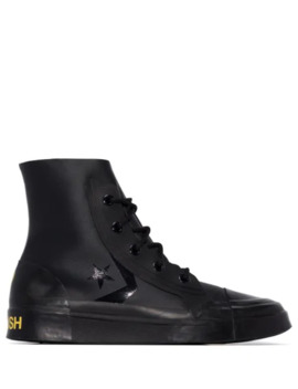 X Ambush Leather High Top Sneakers by Converse