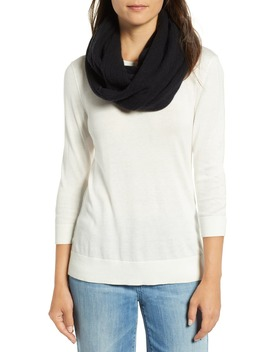 Solid Cashmere Infinity Scarf by Halogen®