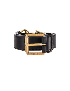 Horsebit Leather Belt by Gucci