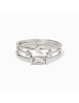 Celestial Ring Stack by Pura Vida Bracelets