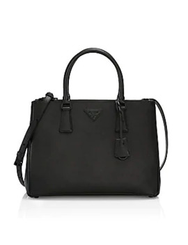 Medium Galleria Leather Tote by Prada