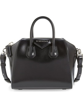 'mini Antigona' Box Leather Satchel by Givenchy
