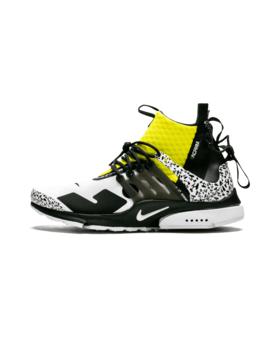 """Air Presto Mid/Acronym """"Acronym   Dynamic Yellow"""" by Nike"""