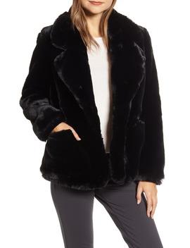 Faux Fur Jacket by Ellen Tracy