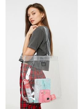 Uo Plastic Tote Bag by Urban Outfitters