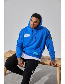 Cobalt Grapgic Oversized Hoodie by Couture Club