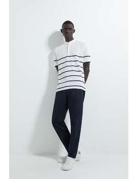 Striped PiquÉ Polo Shirt by Zara