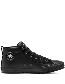 Unisex Converse Chuck Taylor All Star Street Leather Mid Top by Converse