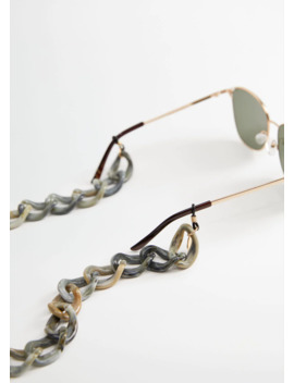 Sunglasses Link Chain by Mango