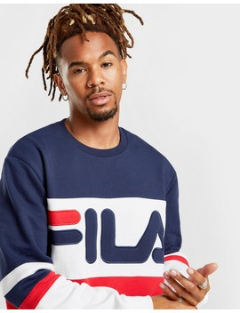 Fila Freddie Crew Sweatshirt by Jd Sports