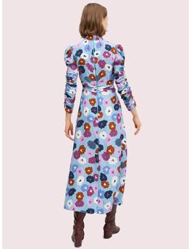 Winter Garden High Neck Dress by Kate Spade