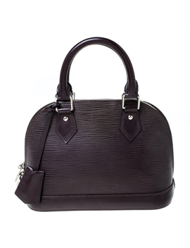 Louis Vuitton Bordeaux Epi Leather Alma Bb Bag by The Luxury Closet