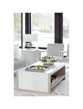 Axiom Coffee Table With Storage by Bernhardt