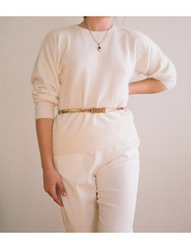 Vintage Rectangular Belt   Gold by Garmentory