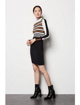 Bold Stripe Knit Dress Bold Stripe Knit Dress by Karen Millen