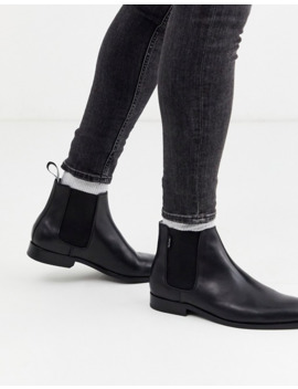 Ps Paul Smith Gerald Leather Boots In Black by Ps Paul Smith