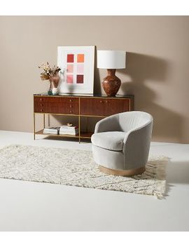Claudia Swivel Chair by Anthropologie