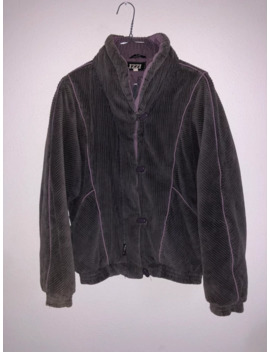 Chinese Lavender Corduroy Jacket by Vintage  ×  Issey Miyake  ×  Japanese Brand  ×