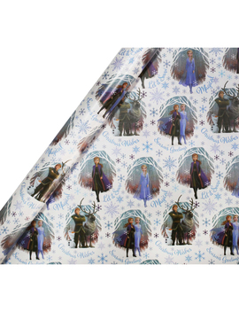 Disney Frozen 2 Roll Gift Wrap   4m by The Works