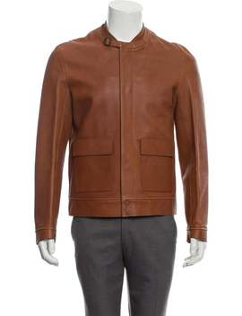 Leather Structured Jacket by Balenciaga