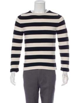 Striped Crew Neck Sweater by Gucci