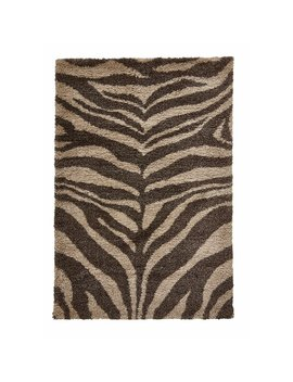 Carey Brown/Beige Rug by World Menagerie