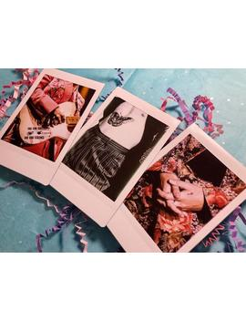 Harry Styles Polaroid Set by Etsy
