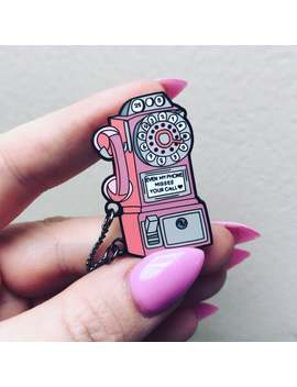 Harry Styles Phone Enamel Pin by Etsy