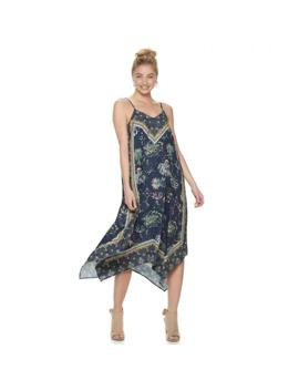 Juniors' Mudd® Handkerchief Hem Midi Dress by Juniors' Mudd