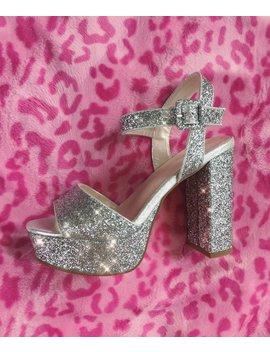 Bratz Doll Platforms  Silver by Alien Outfitters