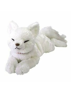 Hizakitsune White Plush M Size Knee Fox Doll Stuffed Toy Sun Lemon 4920361045907 by Sanremon (Sun Lemon)