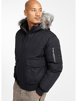 Lucas Down Bomber Jacket by Pajar Canada