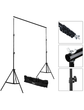 U Bes Goo 2x3 M Backdrop Support Stand Set by U Bes Goo